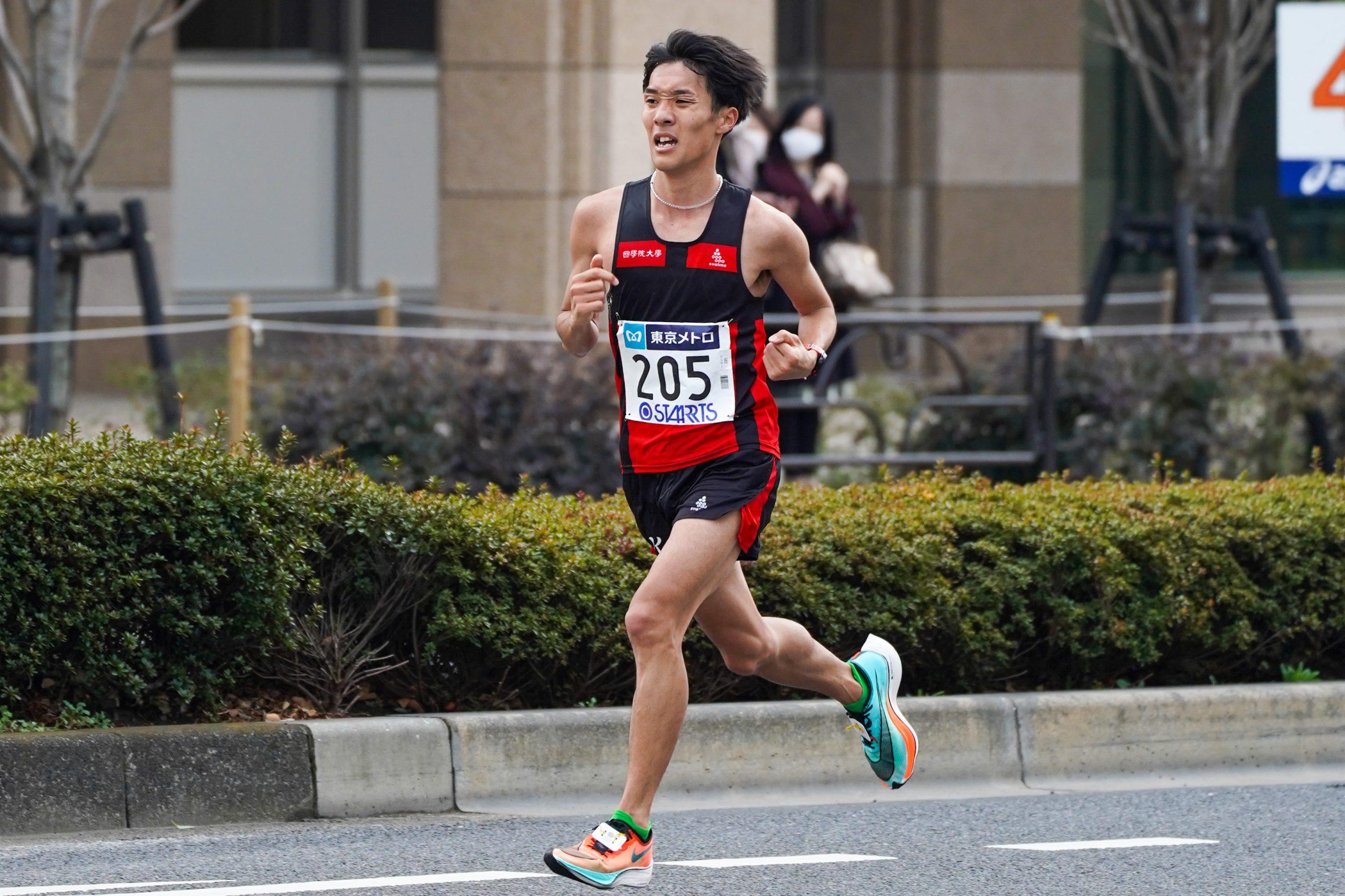 東京マラソンでサブテンを達成した土方英和 國學院大のエースから97年世代を牽引する選手へ